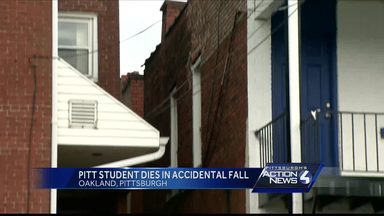 Pitt student dies in accidental fall