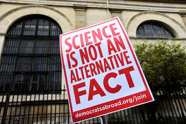 Thousands protest 'alternative facts' at March for Science