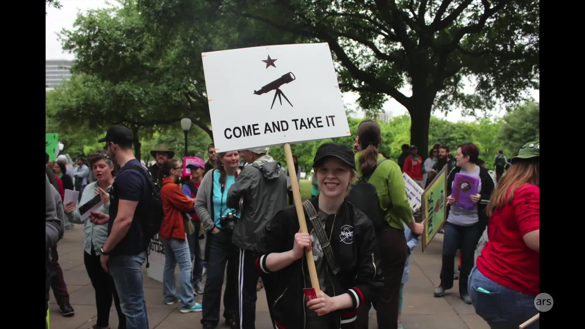 Scenes from the Science March - Austin, TX | Ars Technica
