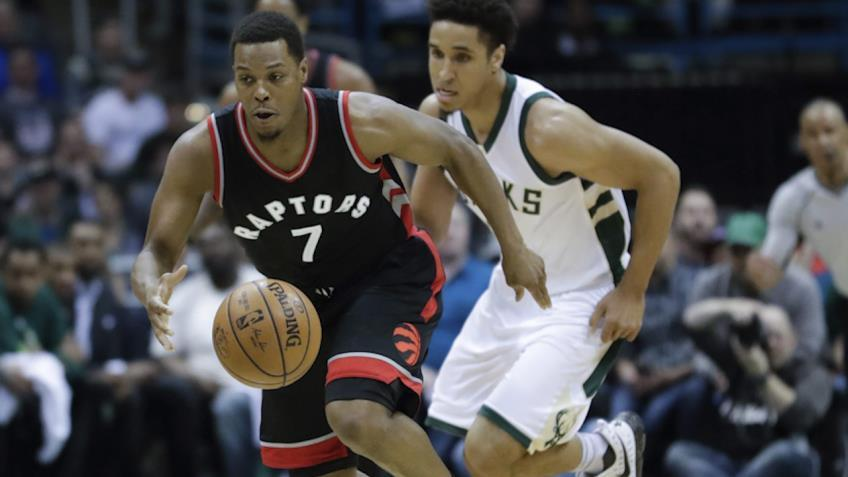 Kyle Lowry says DeMar DeRozan is keeping him calm in playoffs