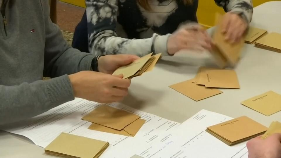 Vote counting begins in most of France in election first round