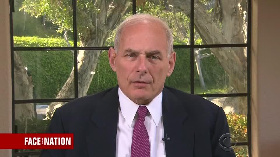 Kelly on border wall, immigration and North Korea