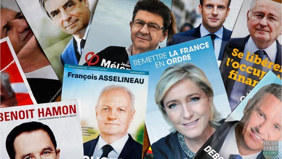 Macron et Le Pen qualifiés pour le second tour