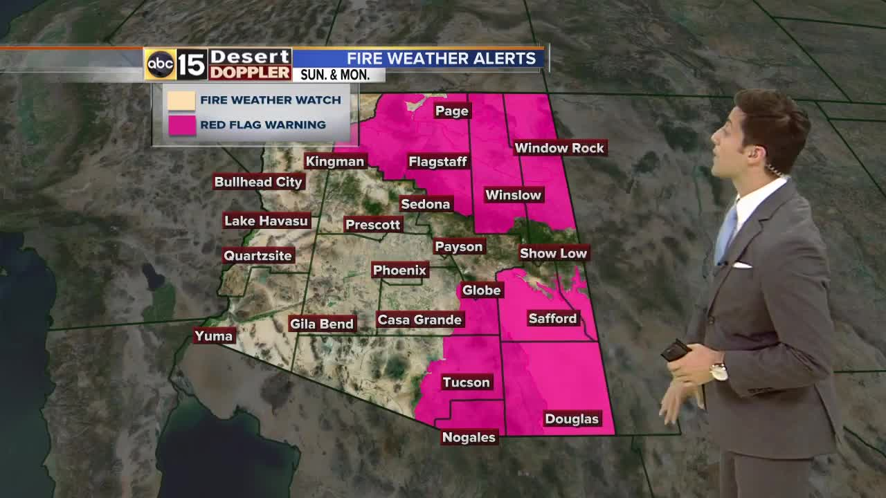 Temperatures reach nearly triple digits in Valley