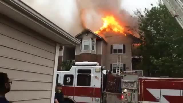 Video Captures Flames At Murfreesboro Apartment Complex