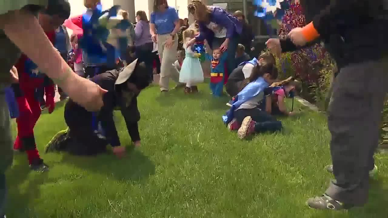 Caldwell superheroes come out to fight child abuse