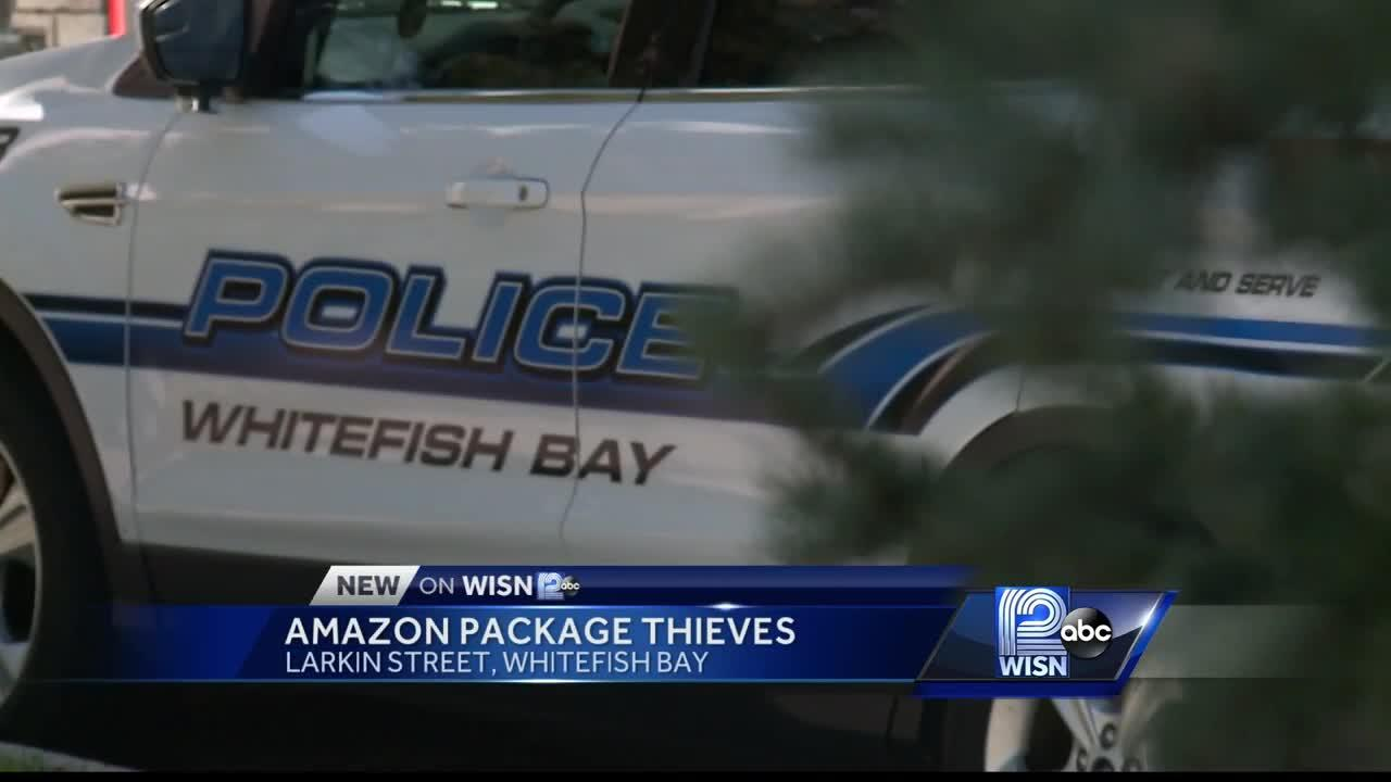 Whitefish Bay police look for suspects in stolen Amazon package case