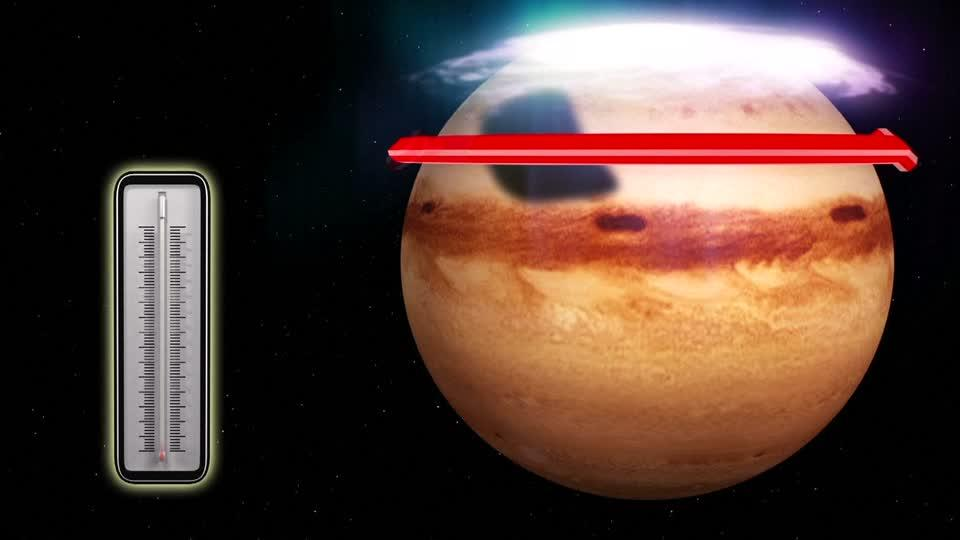 Jupiter has a Great Cold Spot to go with its Great Red Spot