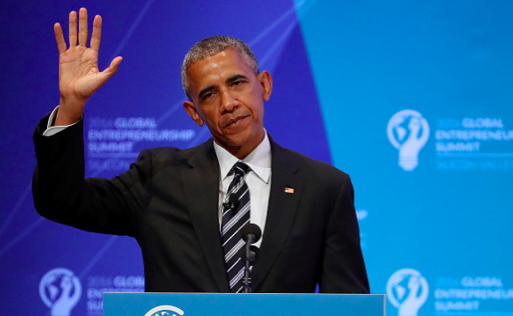 Obama meets with at-risk youth before first major post-presidency speech