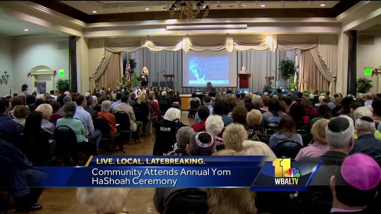 Video: Community attends annual Yom HaShoah ceremony