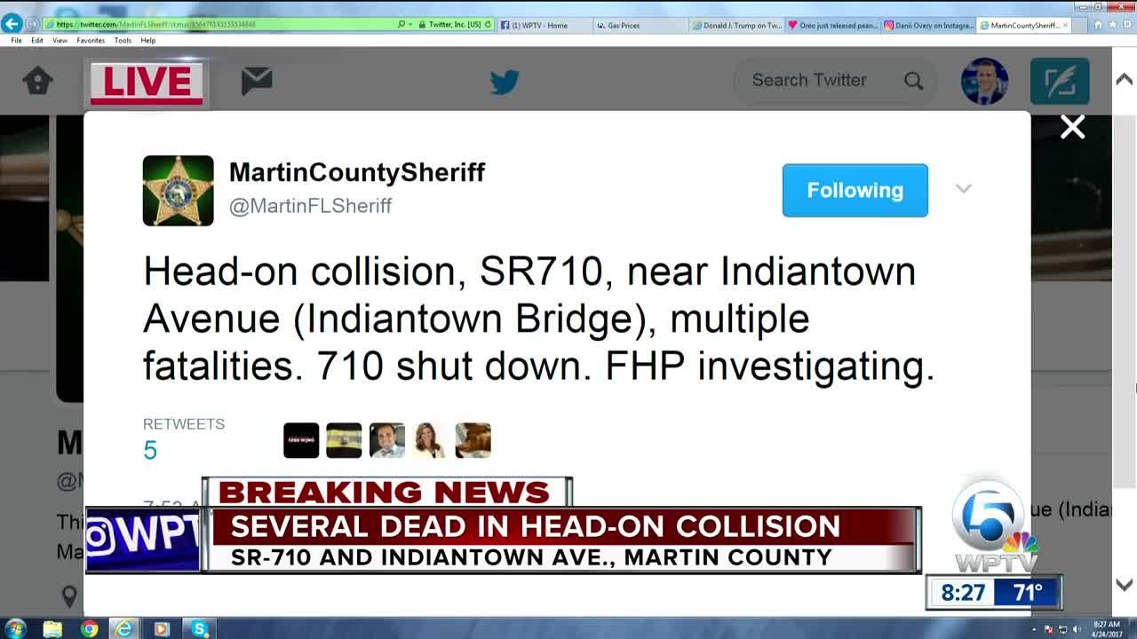 Multiple fatalities after crash on Beeline Highway