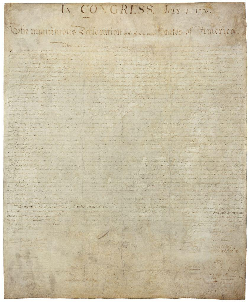 Researchers find lost Declaration of Independence in England