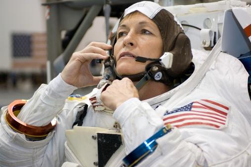 U.S. astronaut Peggy Whitson breaks new space record