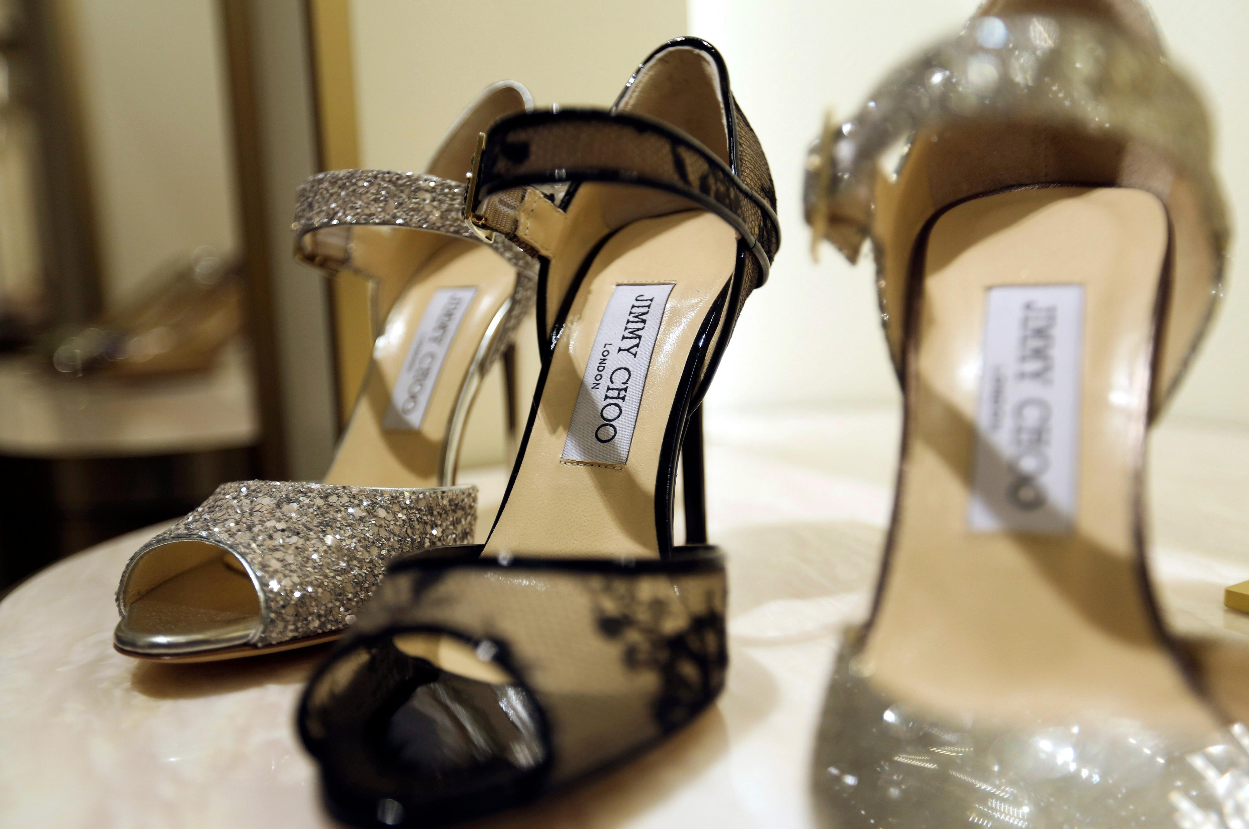 Jimmy Choo just put itself up for sale