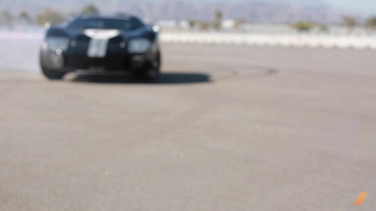 Watch This Historic GT40 Do Donuts
