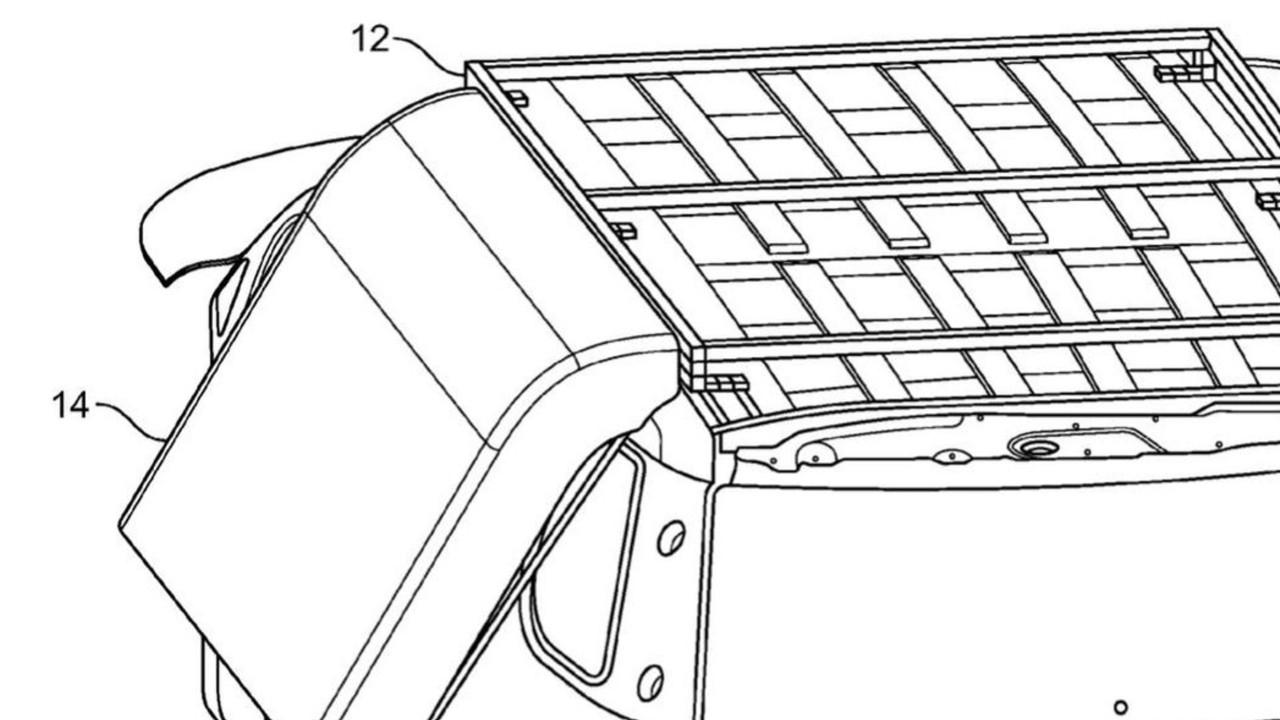 Ford Patents Air Bags To Cushion Car From Rollovers