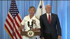 Pence Touts Proposed Increase in Military Spending During Visit to Hawaii Base