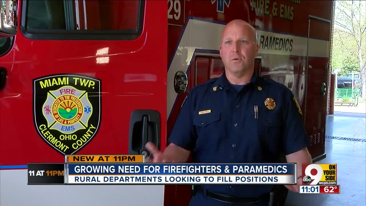 Firefighter and EMT shortage hits rural communities hard