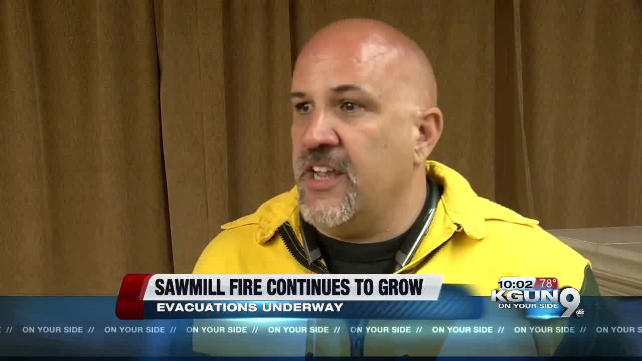 Crews warn of drone use near wildfires