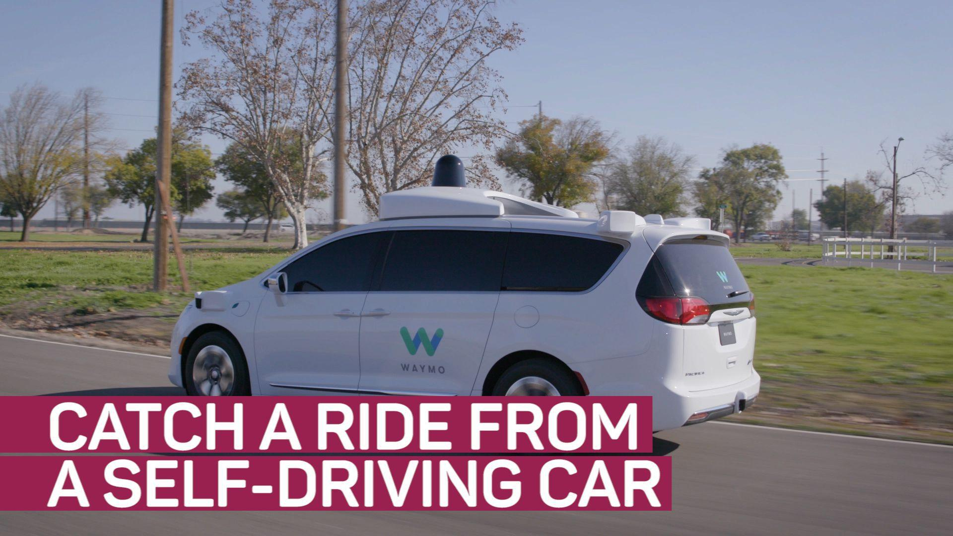 Ride in Google's self-driving cars with Waymo beta-test