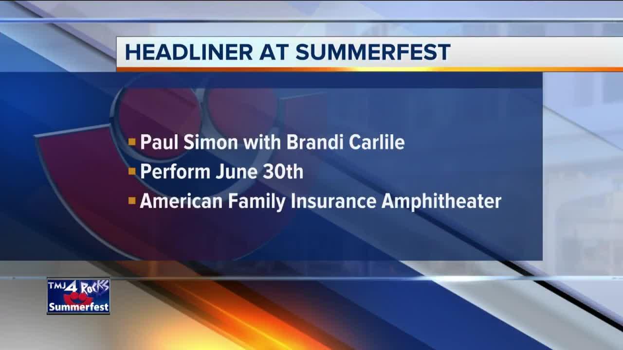 Paul Simon announced as Summerfest's final American Family Insurance Amphitheater headliner