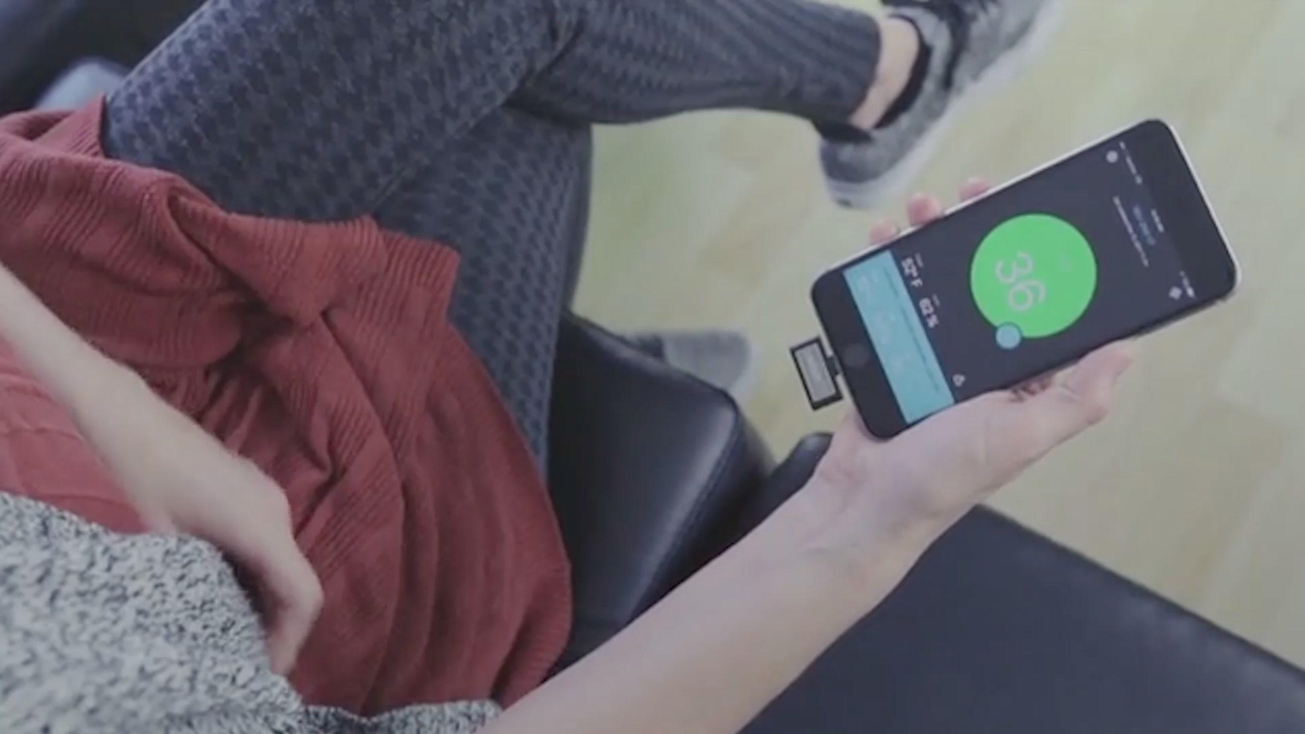 This tiny iPhone gadget can help you detect hazards lurking in the air