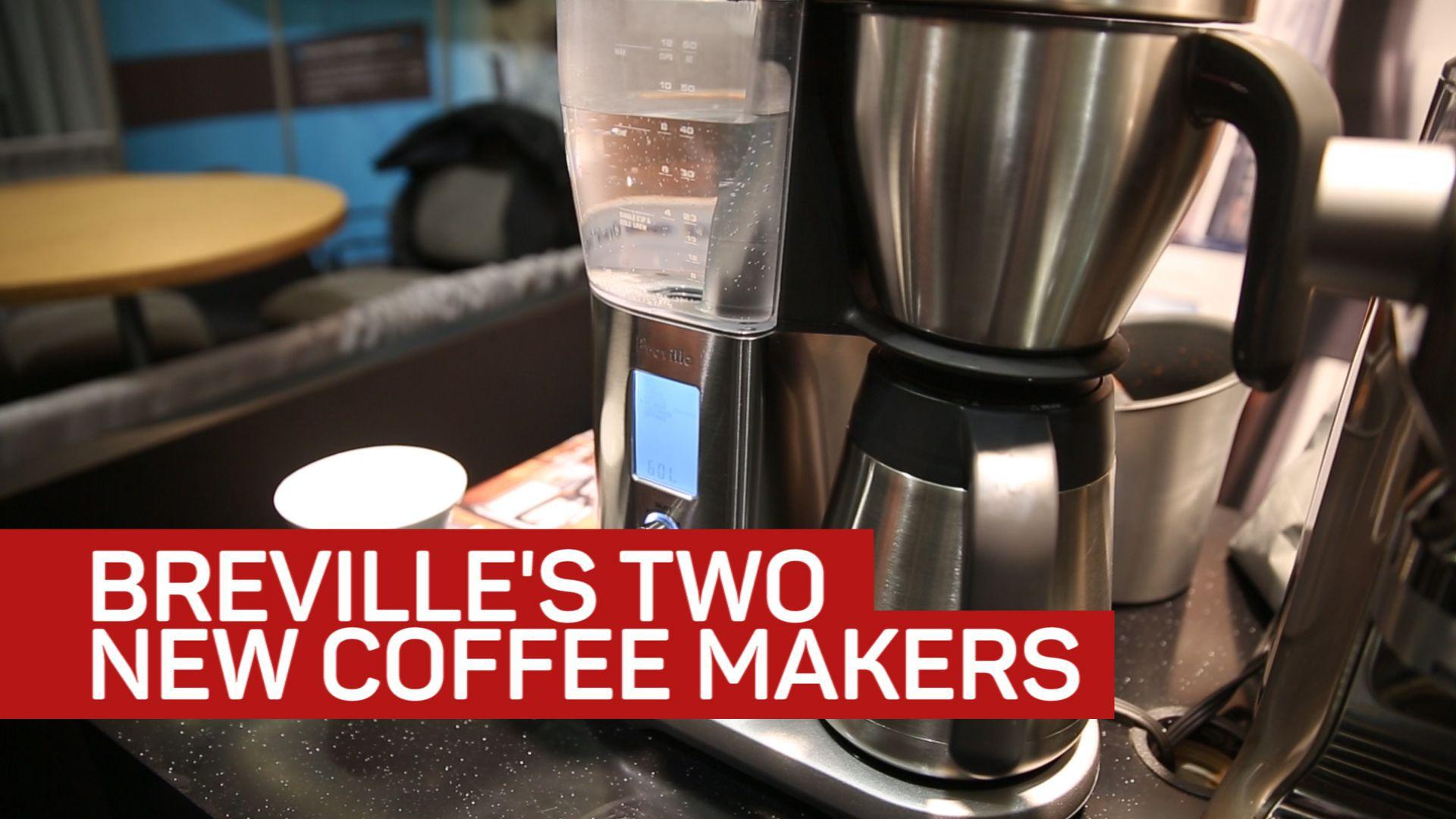 Breville's coffee maker pair brew cups with robotic precision
