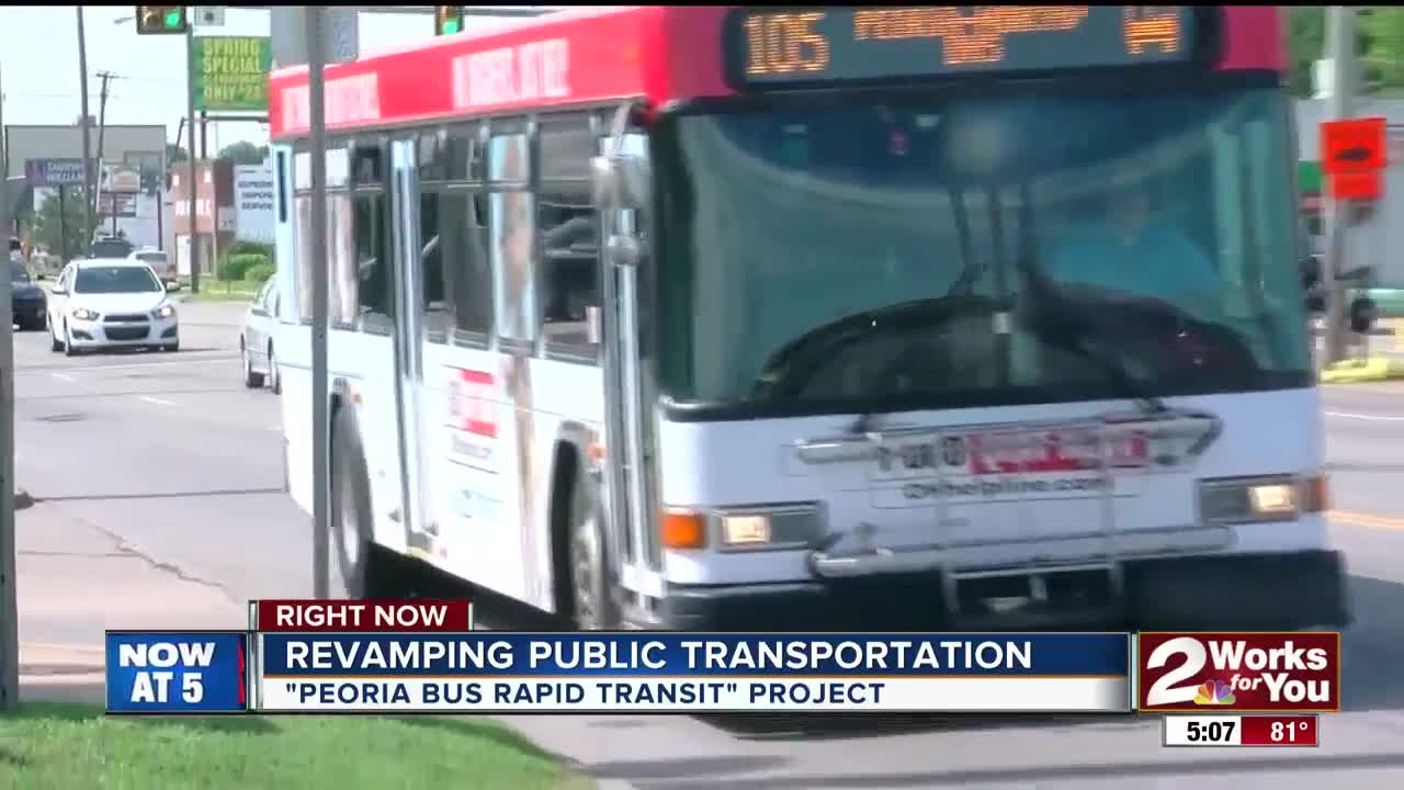 Revamping Tulsa's Bus System