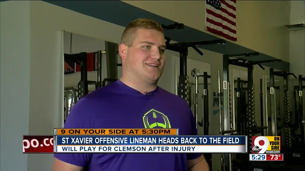 The long road to recovery for St. Xavier offensive lineman and Clemson signee Matt Bockhorst