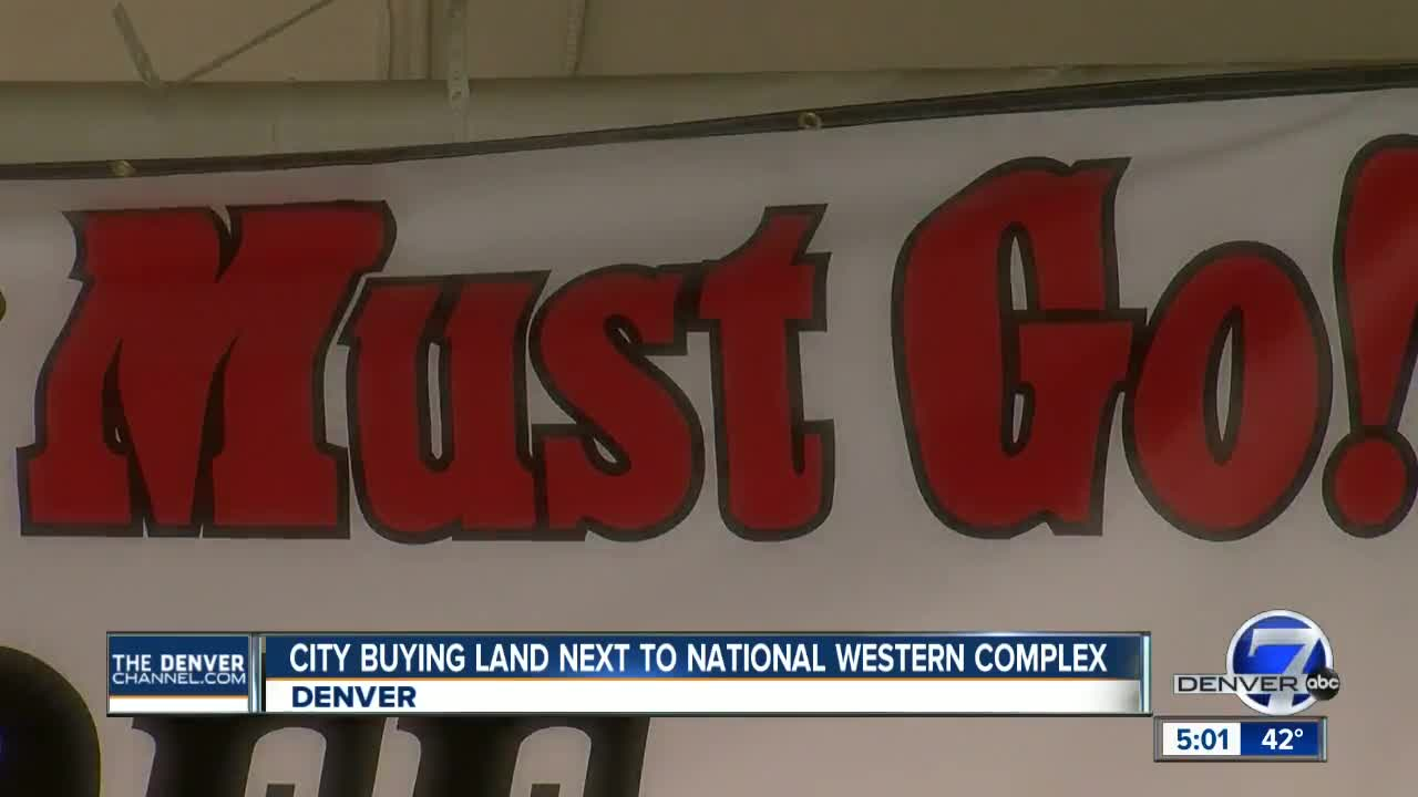 Denver buying land next to National Western Complex