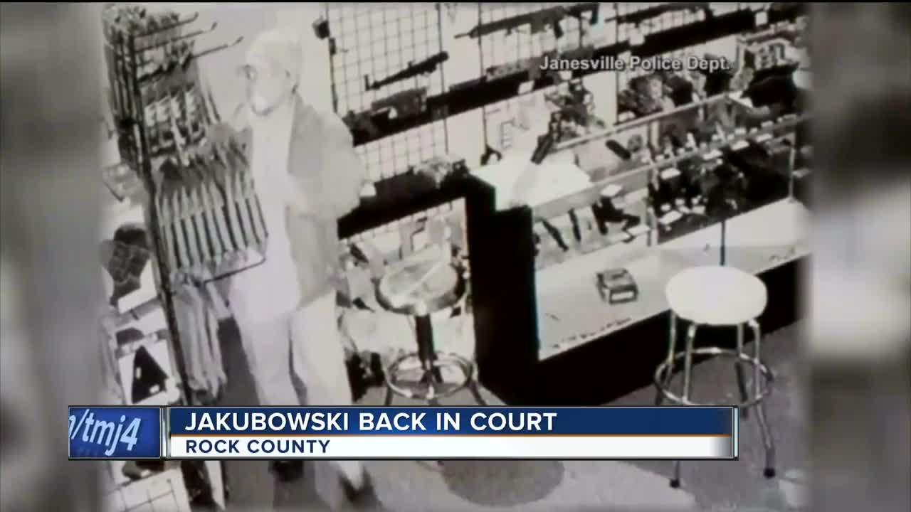 Joseph Jakubowski back in court