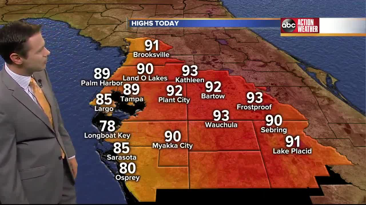 Florida's Most Accurate Forecast with Greg Dee on Thursday, April 27, 2017