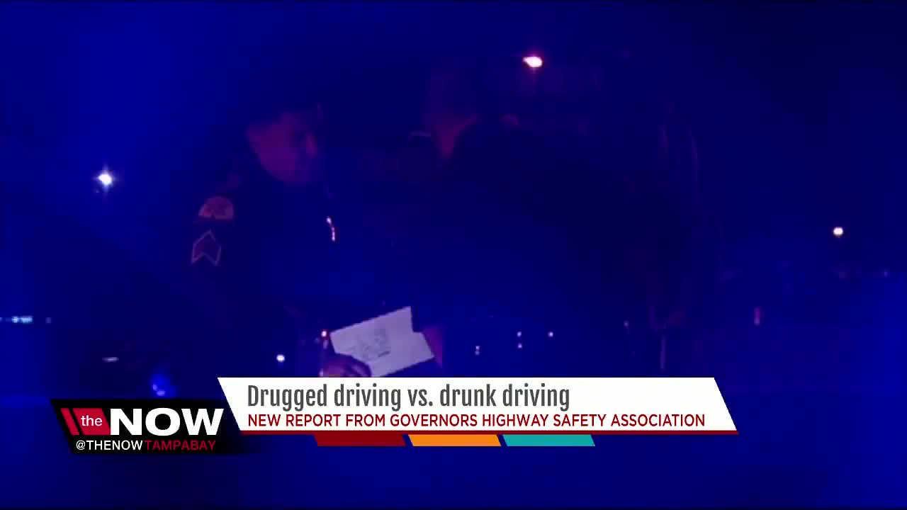 Drugged driving vs. drunk driving