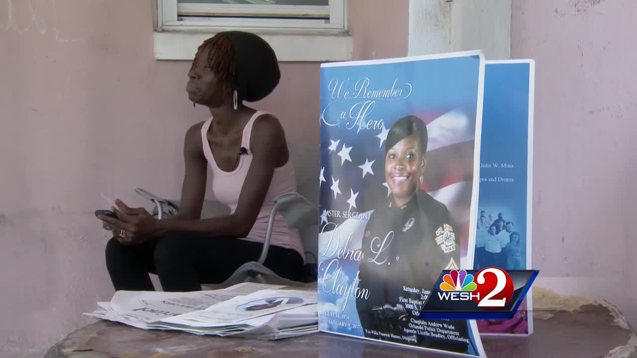 Woman who witnessed murder of Lt. Debra Clayton speaks