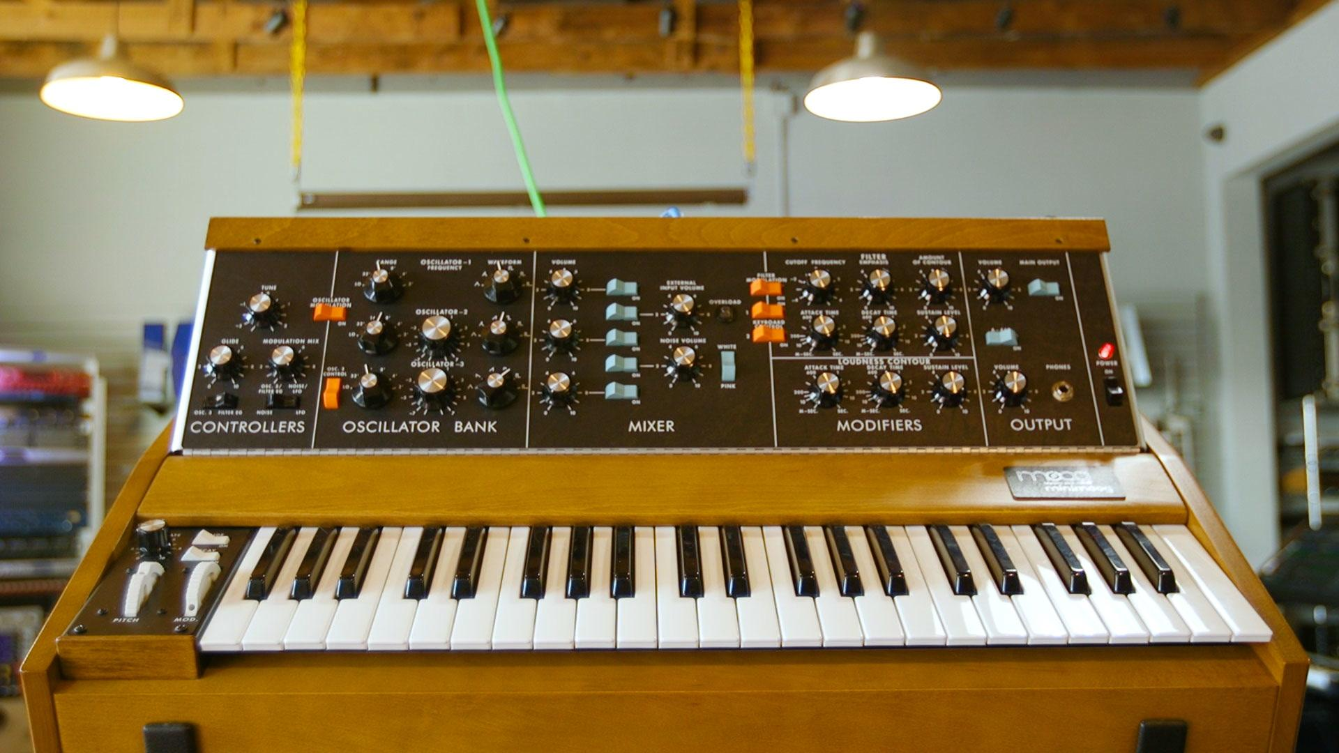 """""""Switch On"""" is a dream space for fans of synthesizers and vintage electronics"""