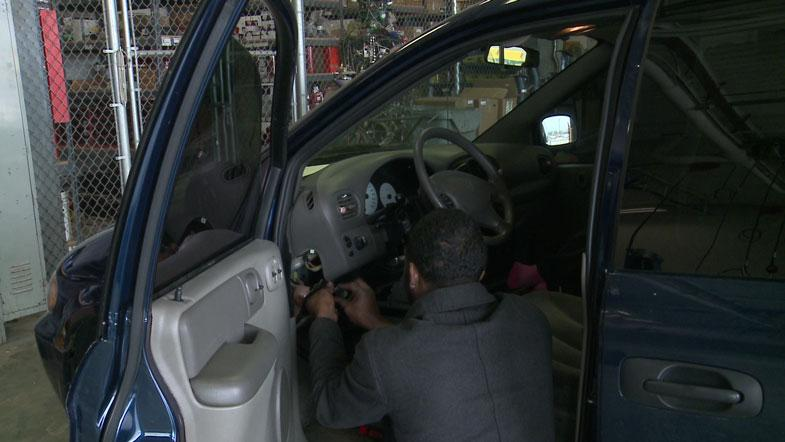 MPD installs anti-theft devices on vehicles