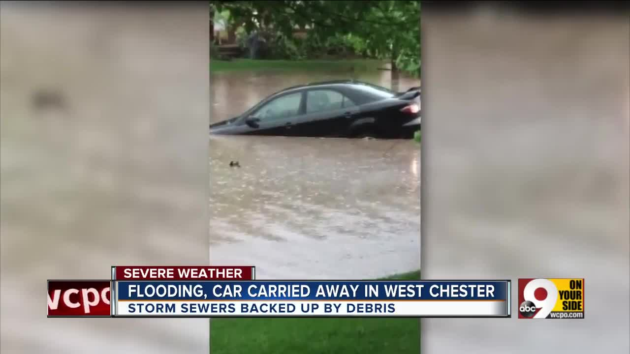 West Chester Township neighborhood flooded Saturday
