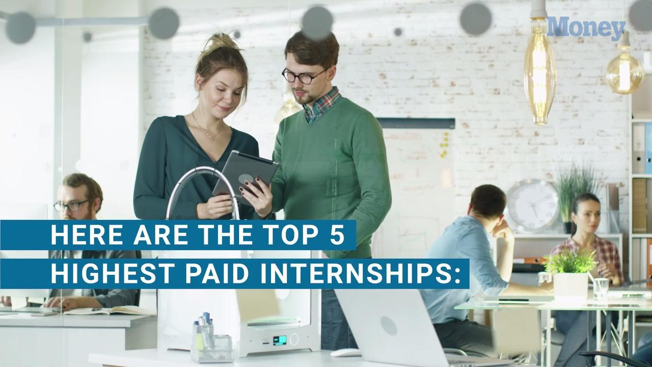 The 5 Highest-Paying Internships Right Now