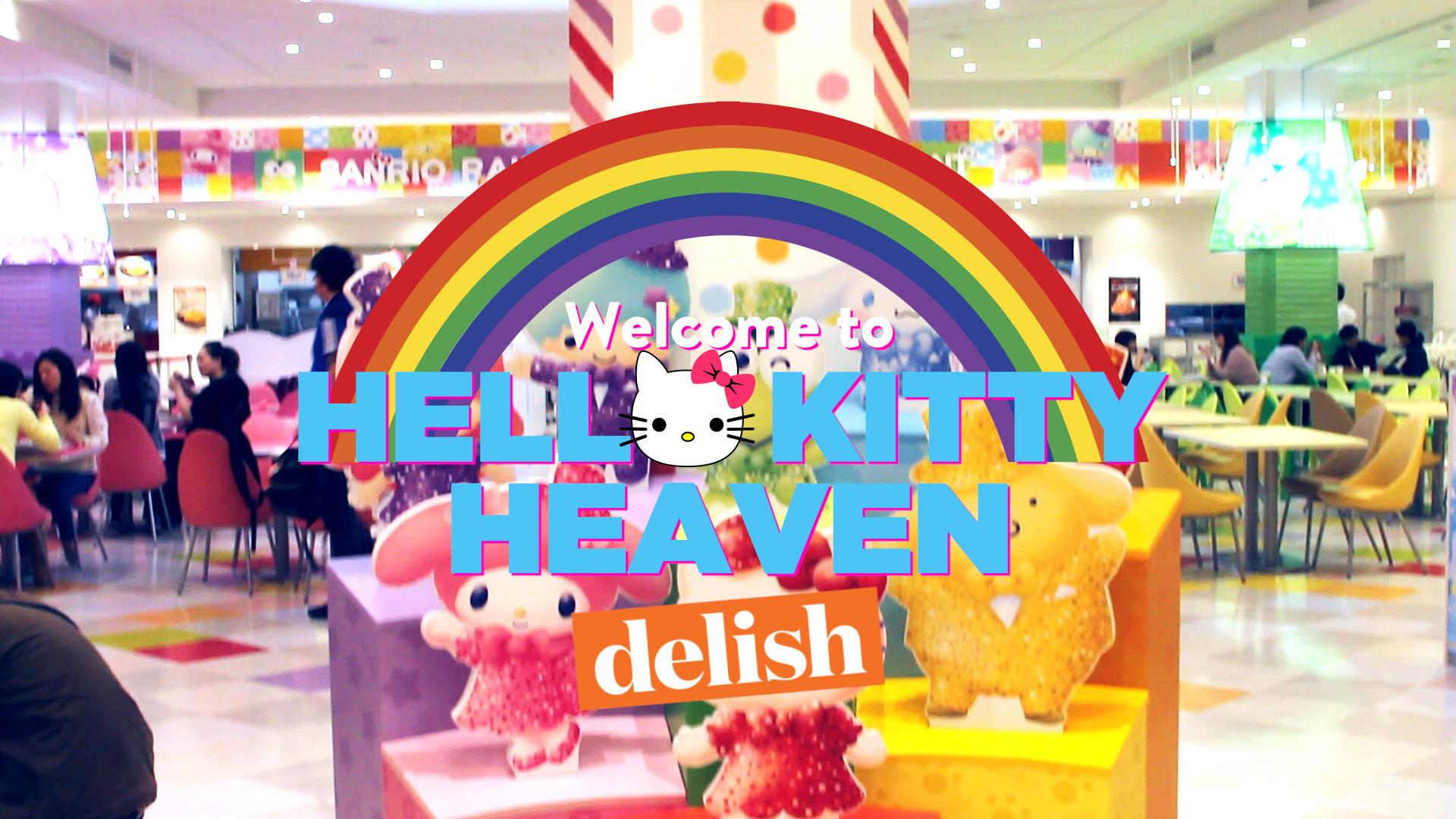 Nothing Can Prepare You for Tokyo's Hello Kitty Theme Park