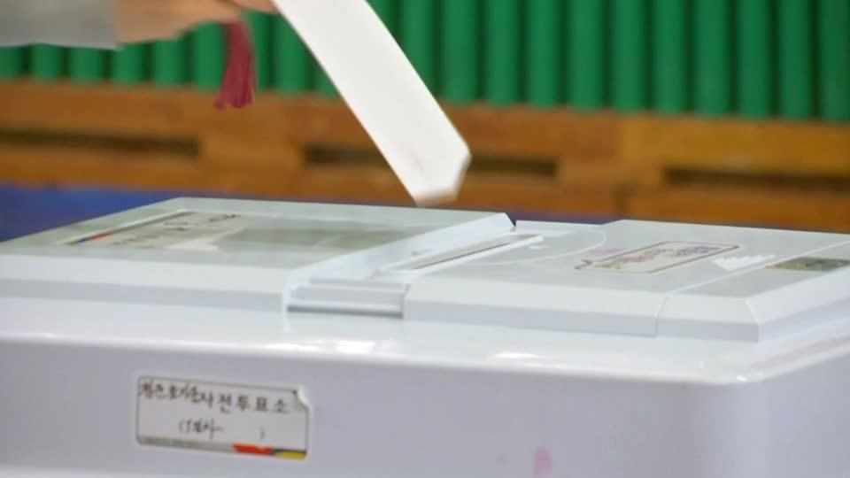 South Korean Voters Drive a Strong Turnout in Snap Elections