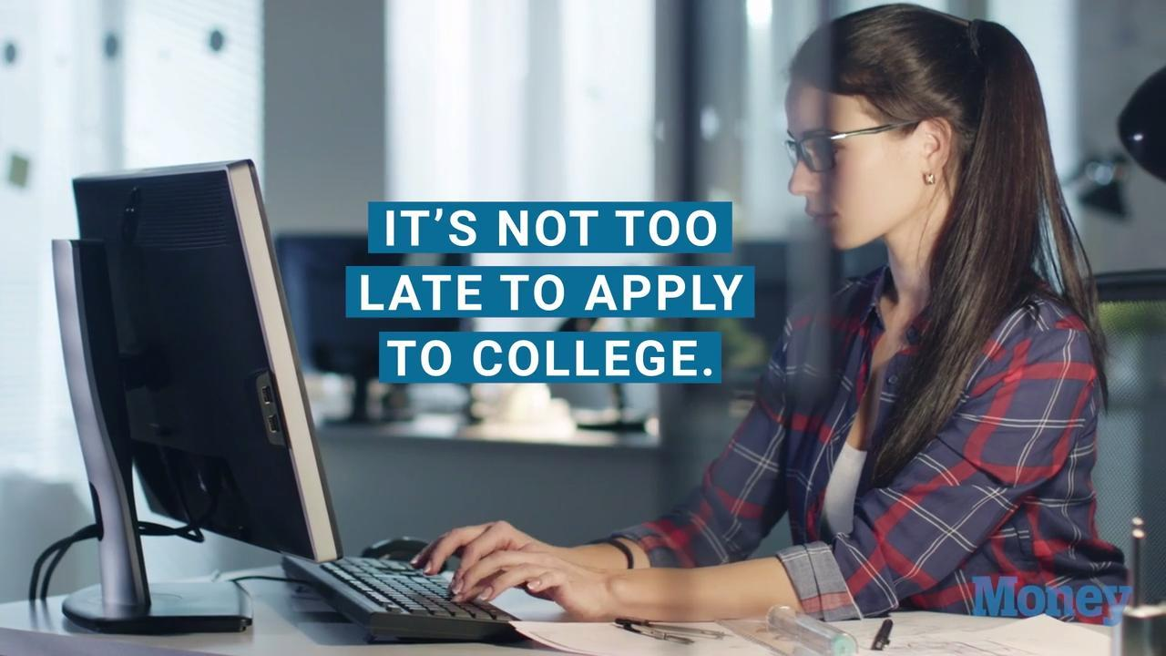 Colleges Still Accepting Applications