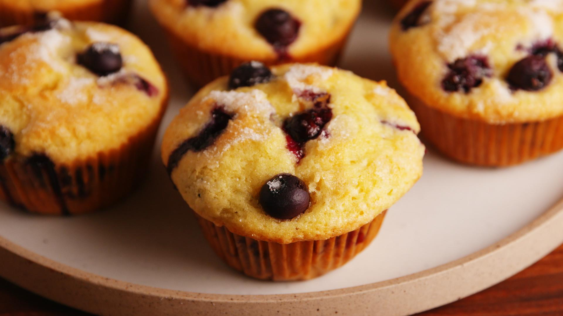 How to Make Classic Blueberry Muffins
