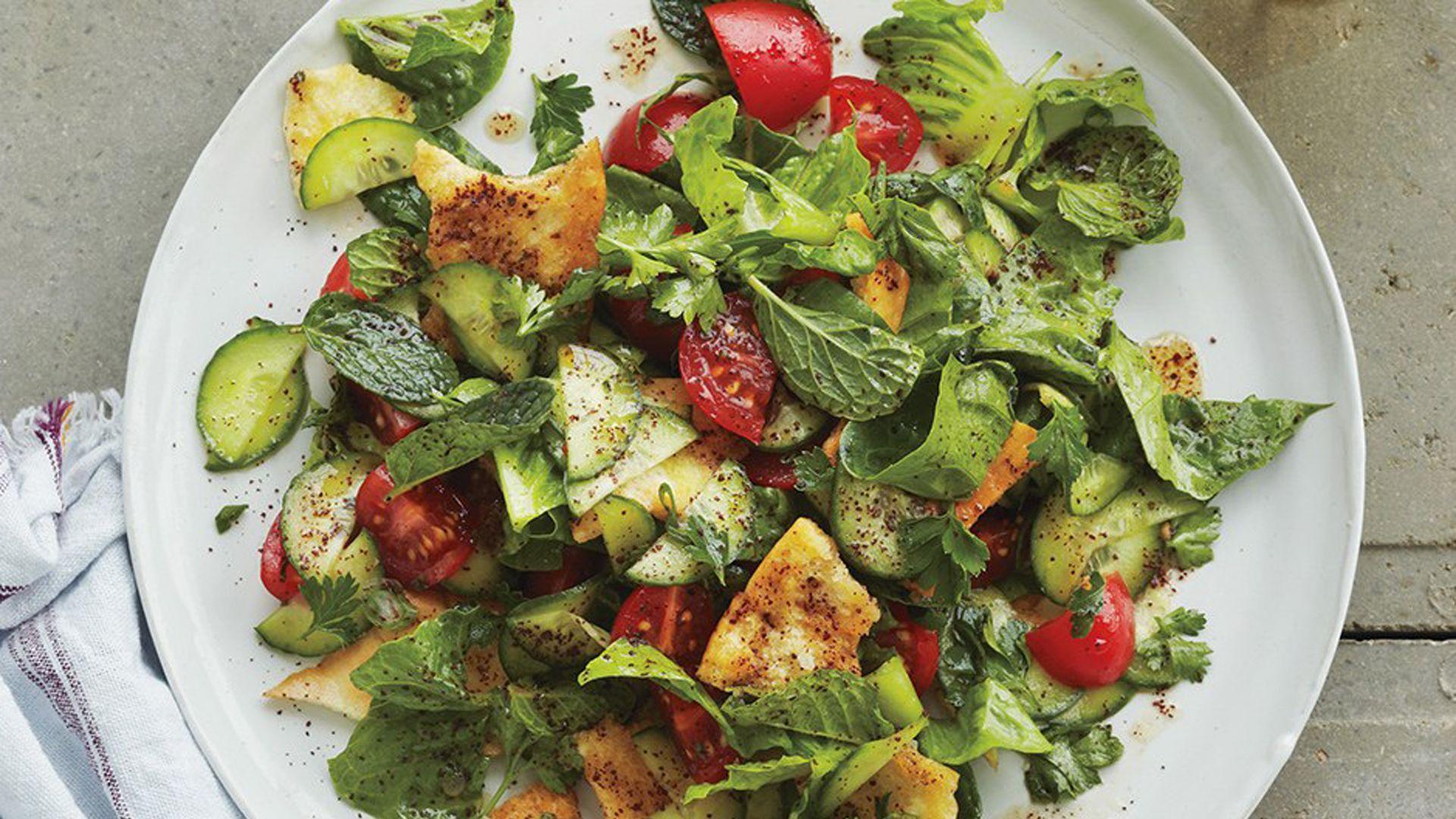 How To Assemble Lebanon's Most Famous Salad, Fattoush