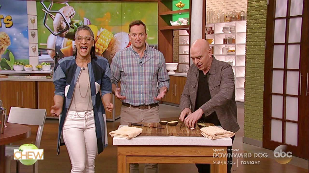 Michael Symon Shows How to Cut an Avocado