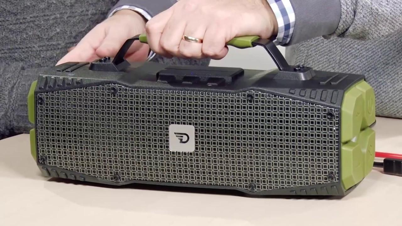 If your car can't start your car this DreamWave speaker can help...?!?