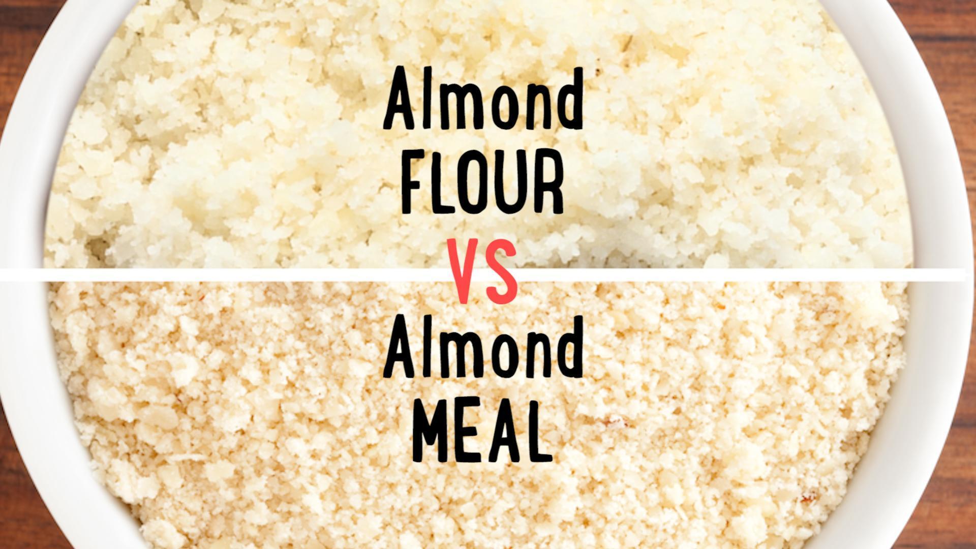 Almond Meal vs. Almond Flour
