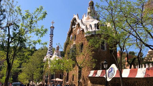 Antoni Gaudí's Park Guell Is One Of The World's Most Unusual Parks