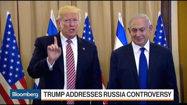 Trump Says He Never Mentioned Israel to Russians