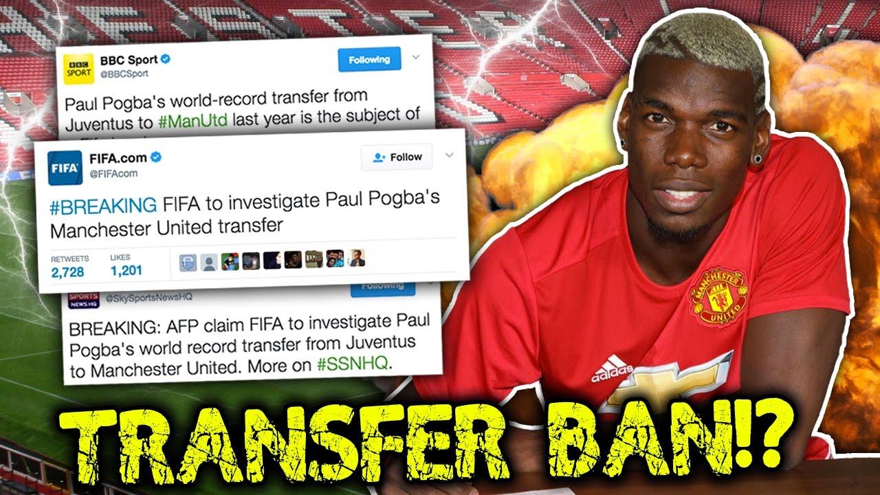 FIFA To Investigate Paul Pogba Transfer To Manchester United?!