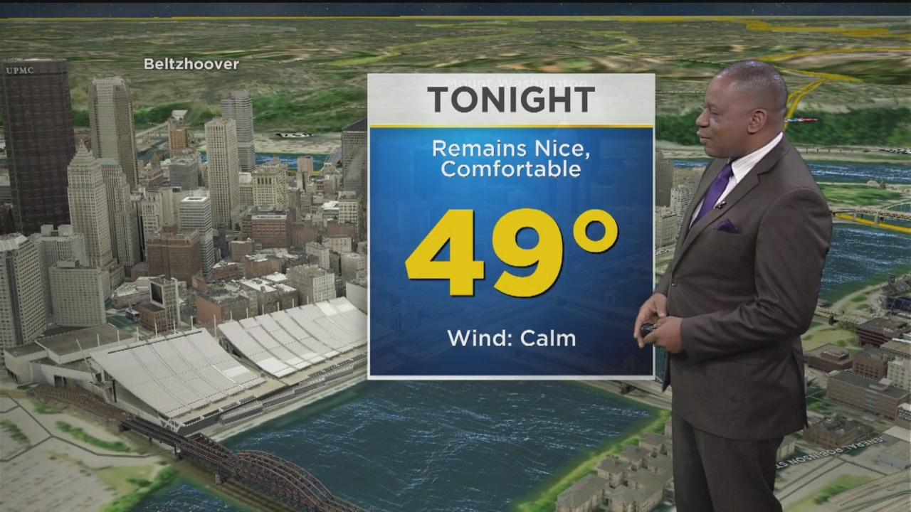 KDKA-TV Afternoon Forecast (5/22)